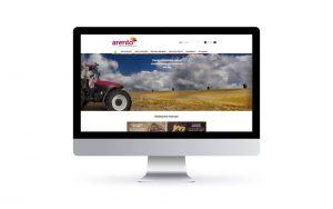 WordPress Deluxe. Referencias. ARENTO. Website corporativo. Desktop