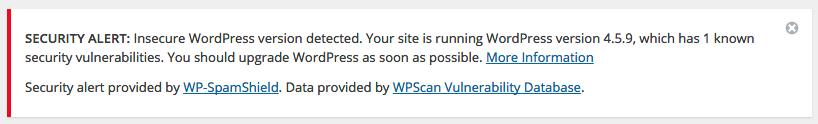 [:es]WordPress Deluxe. Alerta de Seguridad. Se requiere actualizar la versión de WordPress[:]