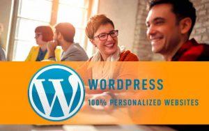 WordPress Deluxe. Servicios frecuentes. Websites corporativos 100% personalizados